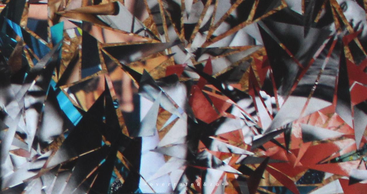 Intens - Detail Collage Suzanne Dirne