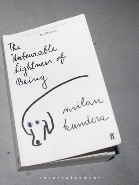 unbearable lightness of being milan kundera