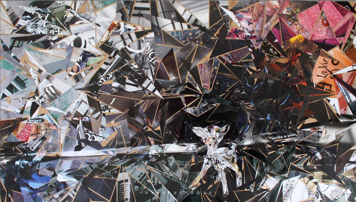 My dear collage deer Suzanne Dirne overratedenzo