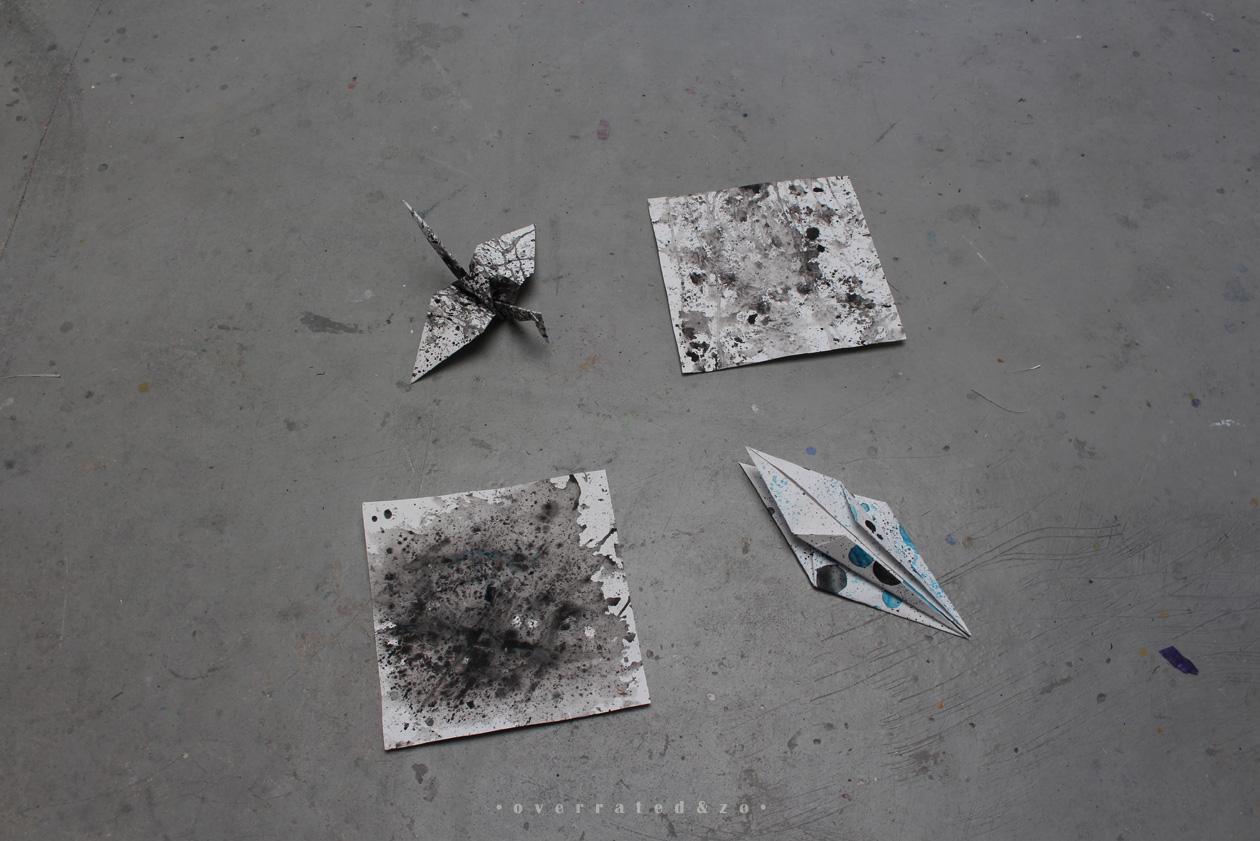 origami kraanvogel suzanne dirne