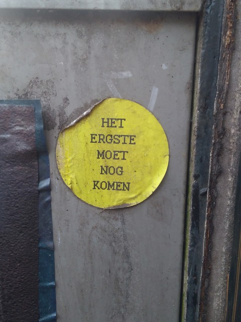 amsterdam street sticker