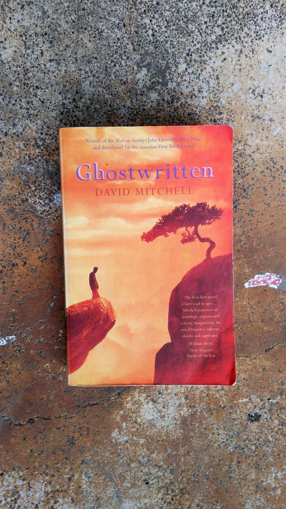 ghost written David Mitchell