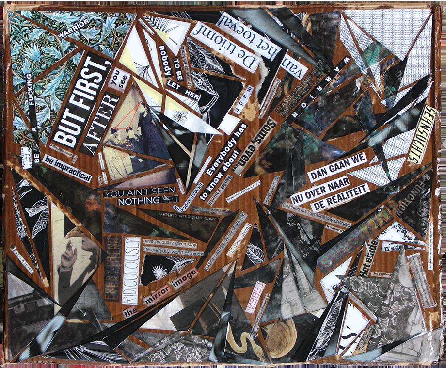 de triomf van het toeval collage kunst Amsterdam suzanne dirne