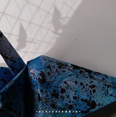 origami kraanvogel Emmanuel Levinas Suzanne Dirne Amsterdam
