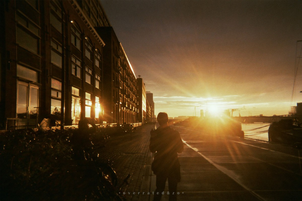 Mezrab Amsterdam sunset