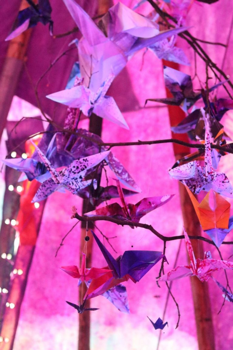 • Origami Installation at Into The Woods Festival •