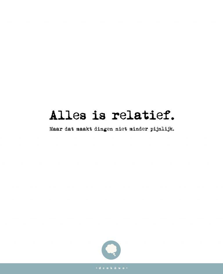 • Relatief &zo •