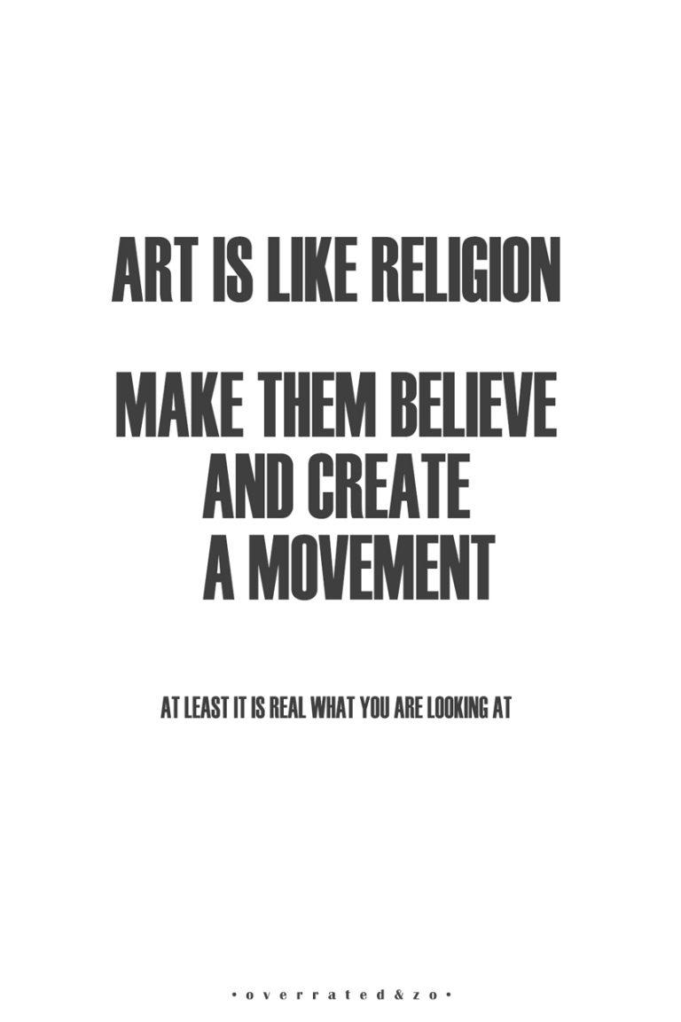 • Create a movement •